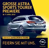 News: Astra Sports Tourer Präsentation am 9. April (24.03.2016)