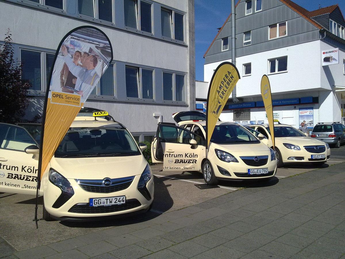 das taxi: fahrgastbeförderung auf höchstem niveau | opel bauer - ihr