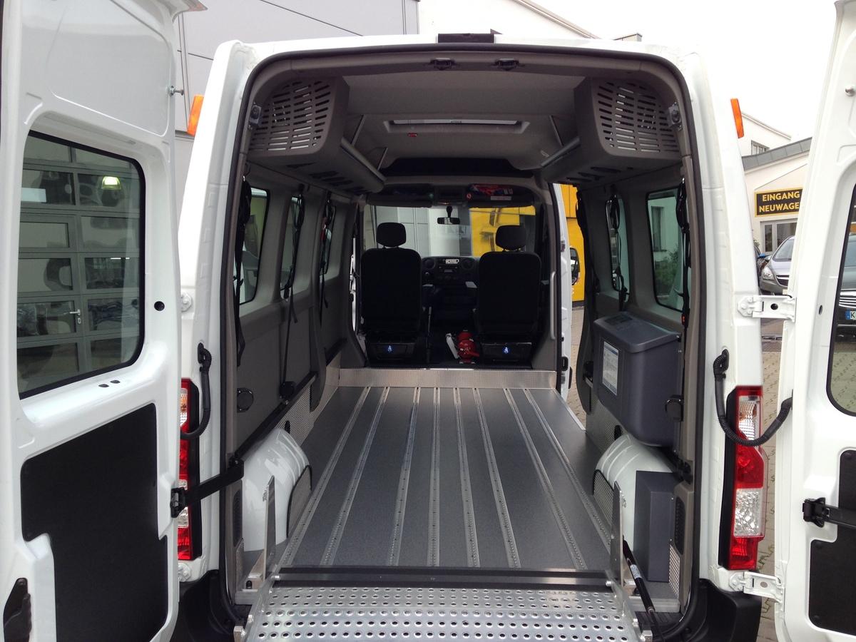 Behindertenbef 246 Rderung Sicher Unterwegs Opel Bauer